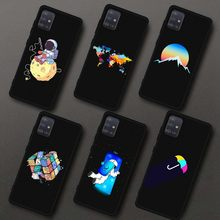 TPU Silicone Phone Case For Samsung Galaxy A51 A71 Printing Case Planet Space Patterned Case For Samsung A71 A715 A 51 71 A515F