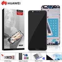 Affichage Original pour Huawei P écran tactile d'affichage à cristaux liquides intelligent avec cadre pour Huawei P écran LCD intelligent Fig-lx3 LX1 L21 L22 LCD
