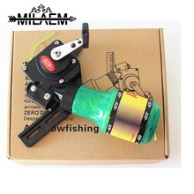 Archery Bow Fishing Reel Bowfishing Spincast for Compound and Recurve Fish Hunting Tool Right Handed