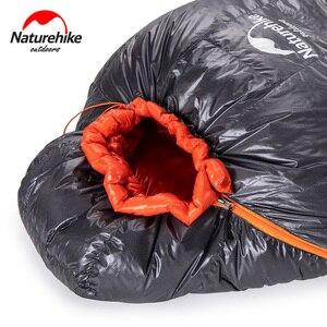 Image 5 - Naturehike 2019 Winter Gans Unten Mummy Warm Halten Schlafsack Einschränkung Komfort Temperatur 32℃ 4℃ ULG400 ULG700 ULG1000