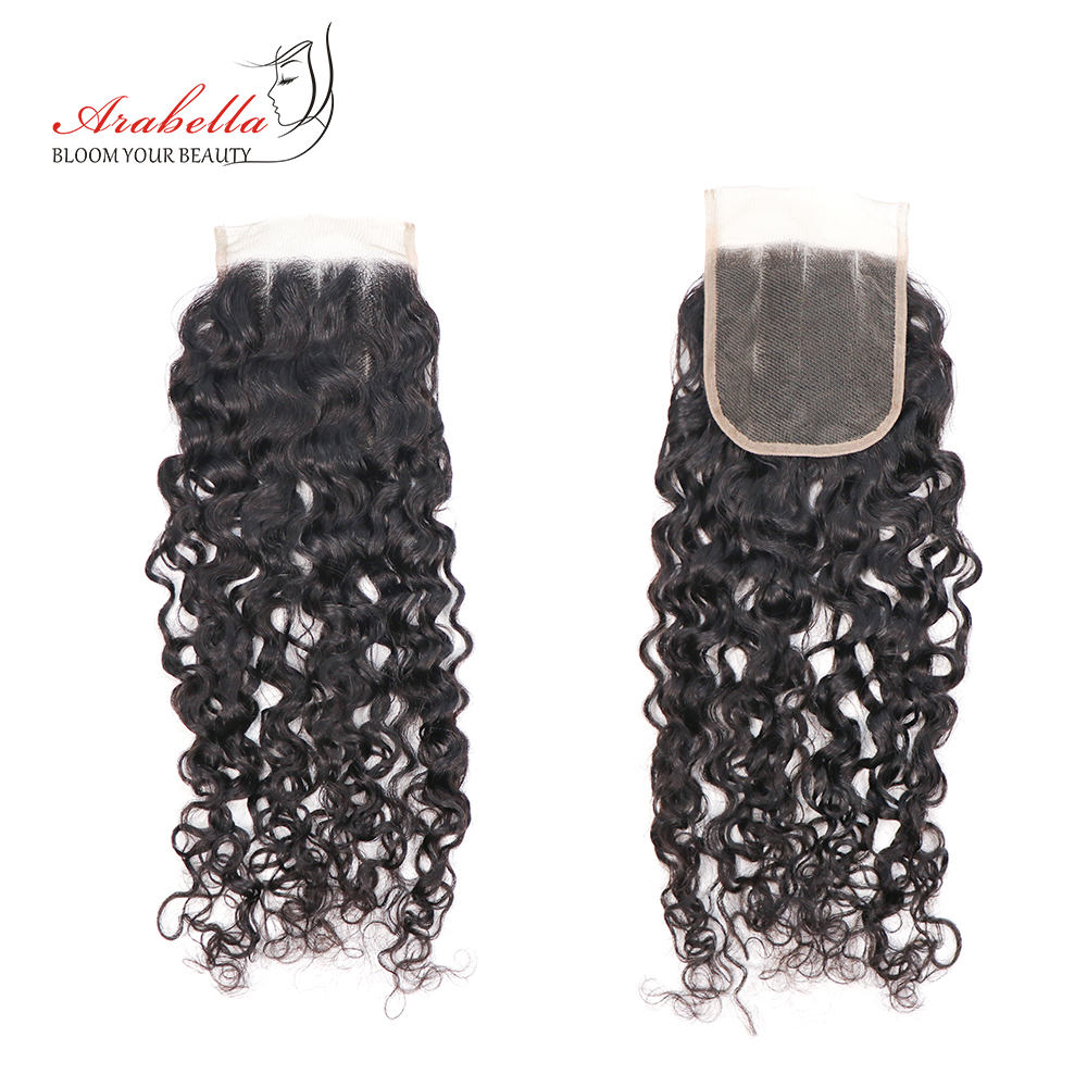 Curly Bundles With Closure   Hair Natural Color 100%   Bundles With Lace Closure Arabella Hair 4