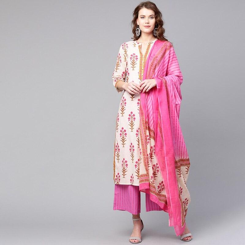 Indian Dress Long Kurti For Women Ladies Kurti Tradicional India Kurta Vestido Indiano Roupa Indiana Costume Robe Indienne