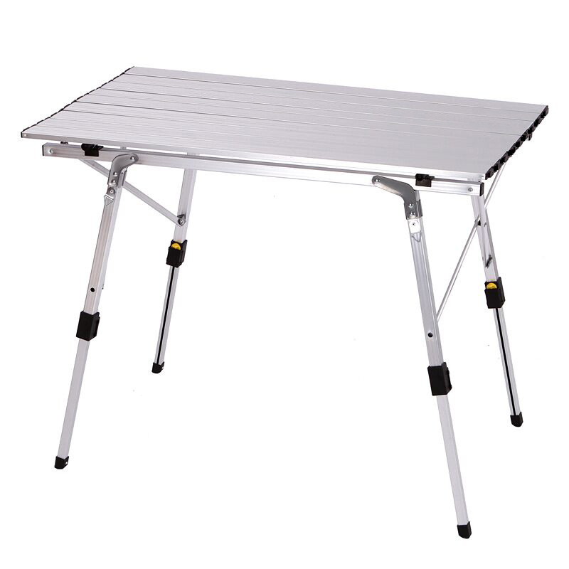 K-STAR открытый складной стол-стул Кемпинг алюминиевого сплава стол для пикника Водонепроницаемый прочный складной стол для детей ростом от 90...