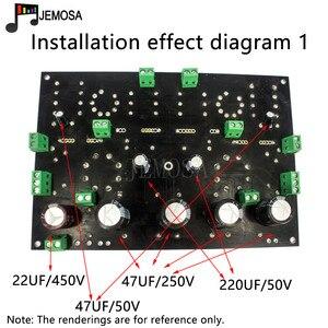 Image 3 - DIY projeleri ses tek uçlu amplifikatörler kurulu 185*125 FR4 PCB kartı EL34 kurulu ücretsiz kargo
