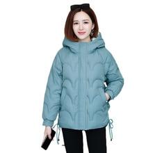 2021 new Winter jacket Women Hooded Parka Coat New Down Cotton Jacket Ladies Warm Loose Cotton-Padded Coats Female Outwear