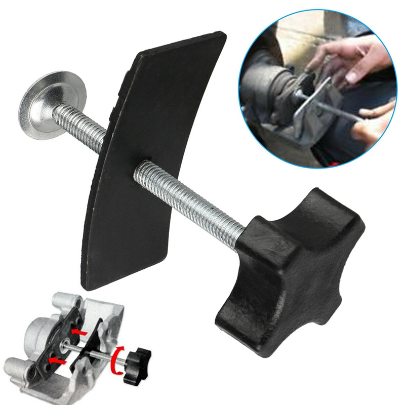 1pcs Disc Brake Pad Spreader Installation Caliper Piston Compressor Steel Press Tool Easily installs pads on Most Cars