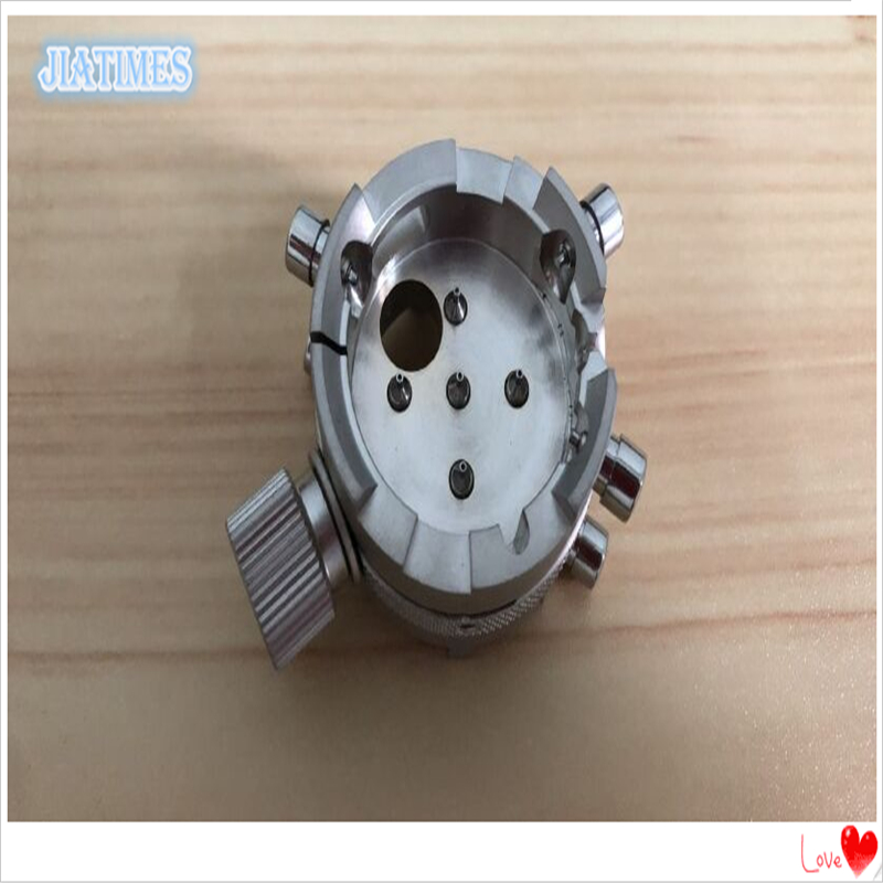 New! Copper Material Cal 7750-53 Movement Holder Silver Color for Watch Repair