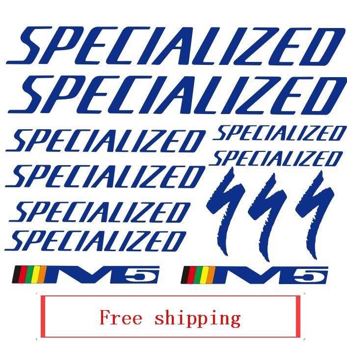 Bike Frame Stickers Specialized Cycling Decal Free Shipping Mtb Bicycle Decal Vinyl Waterproof Antifade Bike Accessories Sticker