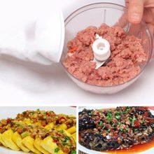 Миксер ручной измельчитель еды домашний овощей Многофункциональный