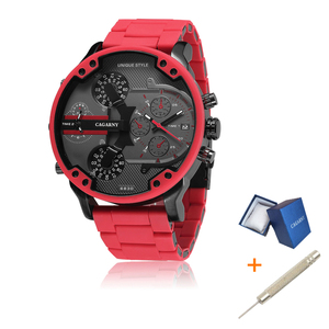 Cagarny 57mm 3D Big Dial Red W