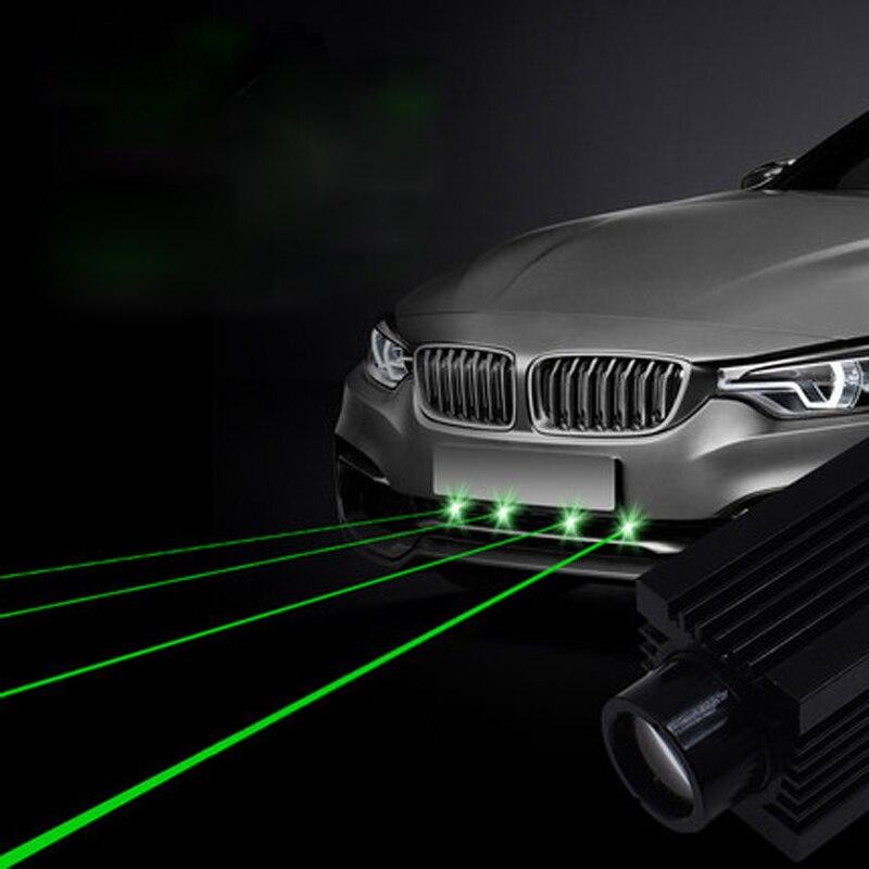 Car Prevent Collision Projector Laser Rear Front Bumper Fog Turn Signal Running Ambient Light Warning Decor Lamp