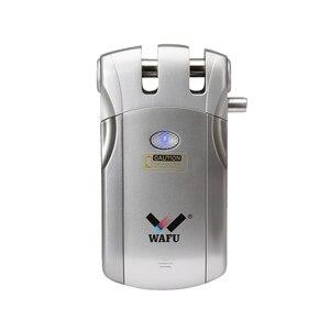 Image 4 - Wafu 019 Draadloze Wifi Smart Lock Afstandsbediening Bt Elektronische Keyless Deur Onzichtbare Slot 433Mhz Telefoon Controle Vingerafdruk Slot
