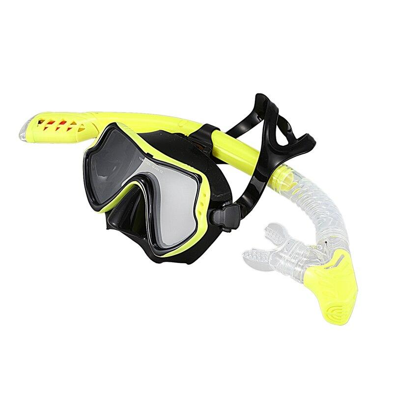 mulher nadar tubo snorkel adultos monofin mergulho