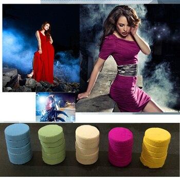 цена на 5Pcs/Box Colorful Smoke Pills Smoke Cake White Smoke Effect Bomb smoke bomba Photography Aid Toy Divine Gift