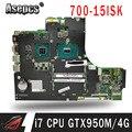 for Lenovo ideapad 700-15ISK xiaoxin700 laptop motherboard CPU I7 6700 GTX950M V4G 100% test OK MB 15221-1M 448.06R01