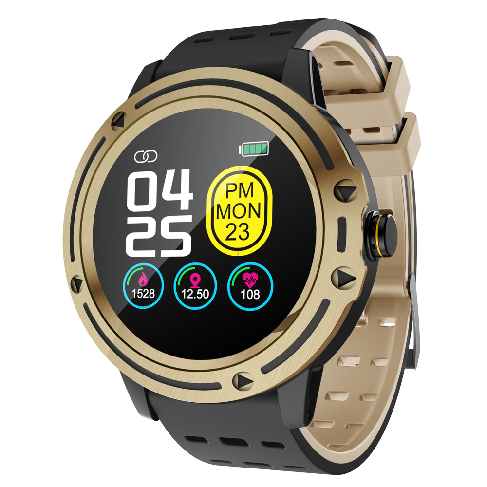 Sleep Monitor Smart-Watch Sports-Fitness-Tracker Blood-Pressure New V5 Full-Touch-Screen