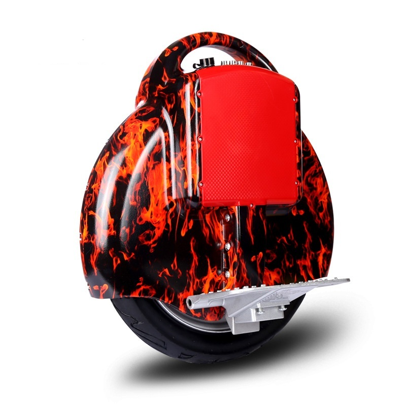 Daibot Electric Hoverboard 14 Inch One Wheel Self Balancing Scooters 350W 60V Electric Unicycle Scooter With HandleBluetooth (14)