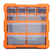 Storage Box Multiple Compartments Slot Hardware Box Organizer Craft Cabinet Tools Components Container Drawer PP+PS Parts