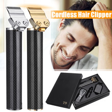 High Quality Close-cutting Digital Hair Trimmer Rechargeable Electric Hair Clipper barbershop Cordless 0m t-blade baldheaded out