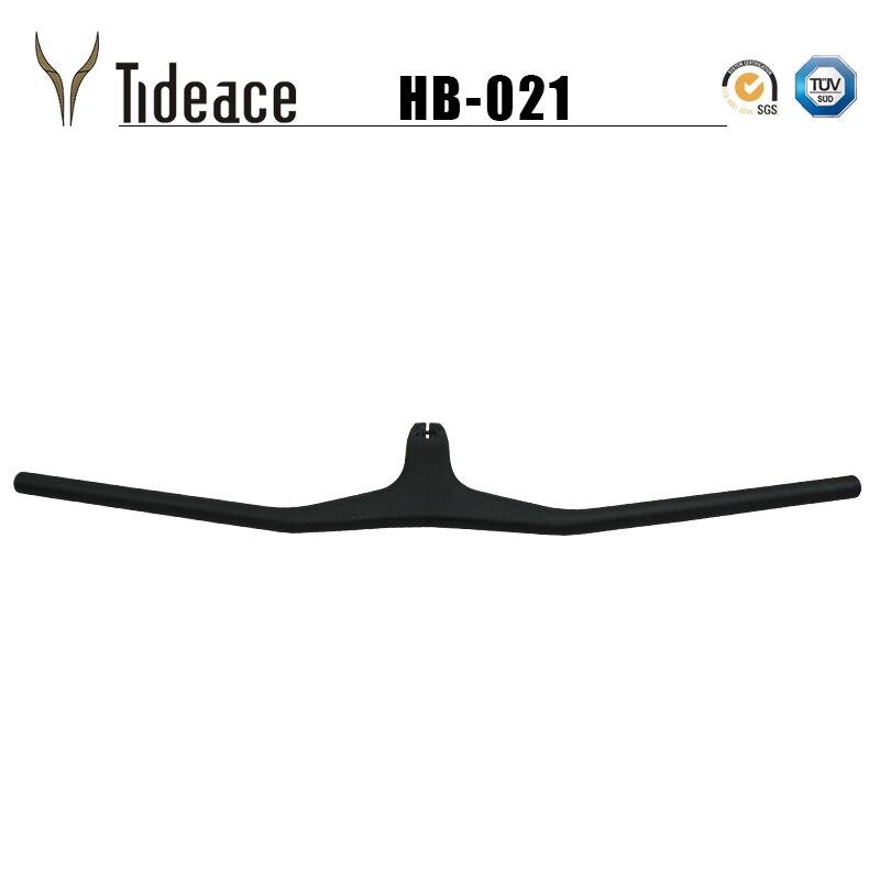 Tideace Mountain Bike Handlebar Carbon Mtb Integrated Flat Carbon Handlebars Bicycle accessoires Handlebar