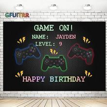 Photography Backdrop Photo-Booth-Props Birthday-Photo Vinyl GFUITRR Play Station-Controller