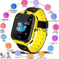 Kuulee Q12B Smart Uhr für Kinder Smartwatch Telefon Uhr für Android IOS Leben Wasserdicht £ Positionierung 2G Sim Karte dail Anruf