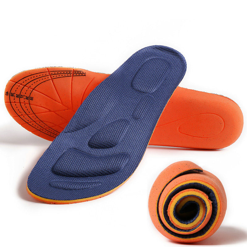 Memory Foam Orthotic Insole Arch Support Shoes Insoles Man Women Flat Feet Sports Running Breathable Orthopedic Insoles For Feet
