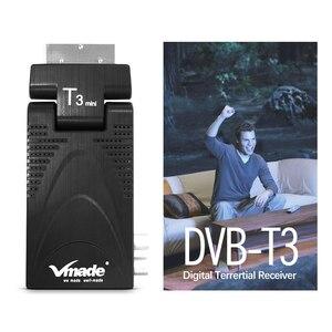Image 4 - Vmade 2020 HD цифровой приемник ТВ тюнер DVB t2 наземный приемник Поддержка youtube с usb wifi dvb t2 декодер h.265 ТВ коробка