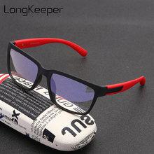 Longkeeper очки с защитой от синего излучения квадратные для
