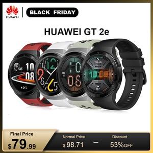 "Image 1 - Huawei Horloge Gt 2e Originele 100 Sport Modi Gt2e 5ATM Smart Horloge 1.39 ""Amoled 2 Weken Standby Sport Horloge gt Lite Waterdicht"