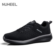 NUHEEL  men's shoes summer Korean fashion wild low-top men's shoes lightweight non-slip sports casual shoes men