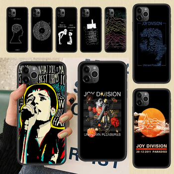 Joy Division Ian Curtis Phone Case Cover Hull For iphone 5 5s se 2 6 6s 7 8 12 mini plus X XS XR 11 PRO MAX black silicone image