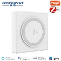 FrankEver Tuya Zigbee 3.0 Hub Wifi Smart Home Bridge Wireless Remote Controller Smart Home Devices