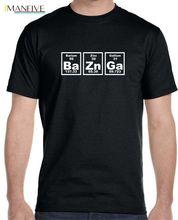 Bazinga Periodic Table Mens T-Shirt, The Big Bang Theory Sheldon Cooper Free shipping Harajuku Tops t shirt Fashion Classic