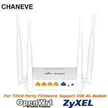 CHANEVE enrutador WiFi inalámbrico 802.11n de 300Mbps, MT7620N, Chip compatible con Padavan/Omni II/OpenWRT/OS, Firmware para módem USB 3G 4G