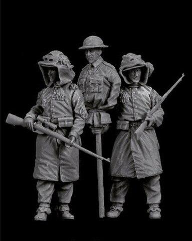 1 35 moderno britanico homem conjunto de resina figura modelo kits miniatura gk unassembly sem