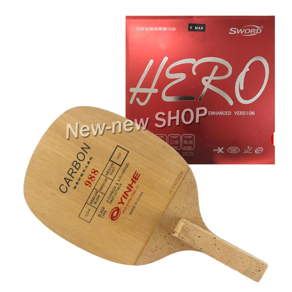 Yinhe 988 Blade With Sword Hero Rubber For A Table Tennis Racket