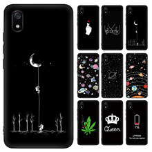 Phone Case For Xiaomi Redmi Note 7 K20 Pro 7A 7 6 6A GO Silicone Pattern Case For Xiaomi Mi 9 SE 8 A3 A2 lite Mi 9T Pro CC9 CC9E(China)