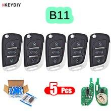 5 יח\חבילה B11 אוניברסלי B סדרת שלט רחוק עבור KD200/KD300/KD900/URG200/מיני KD/KD X2 ליצור מפתחות חדשים DS סגנון
