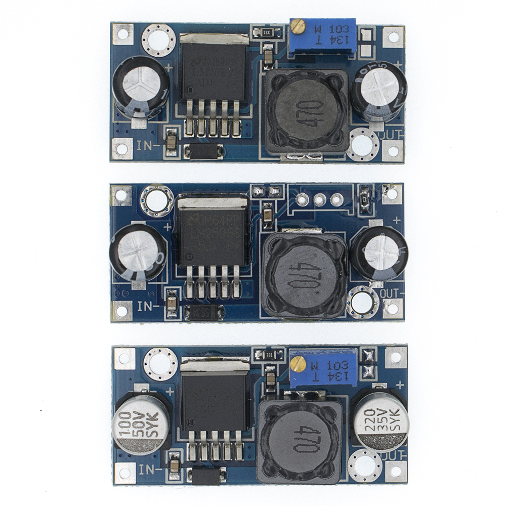 100pcs LM2596 LM2596S ADJ DC DC 4.5 40V adjustable/5V step down power Supply module 5V/12V/24V-in Integrated Circuits from Electronic Components & Supplies