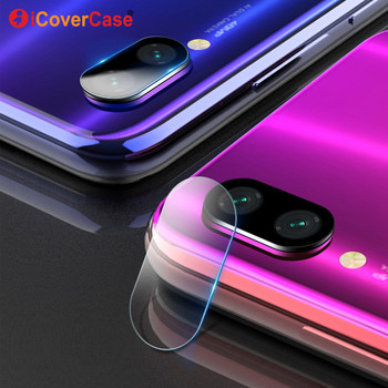 2Pcs Camera Tempered Glass Film And Front Glass For Xiaomi Redmi Note 7 8 Pro A Case Mobile Accessory Back Camera Protector Lens 1
