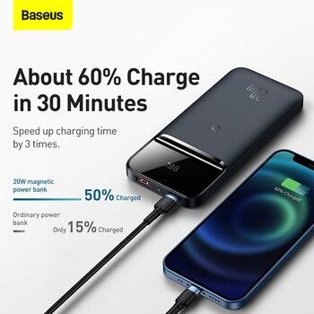 Внешний аккумулятор Baseus 20 Вт, 10000 мАч 2