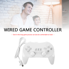 Classic Wired Gamepad Controller Accessories Set Game Entertainment for Nintend Wii Joypad Remote Control Joystick