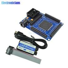 FPGA CycloneII EP2C5T144 PLACA DE DESARROLLO DE SISTEMA mínimo EPROM 5V con Blaster USB Cable de conexión de 10 pines de Cable Mini USB