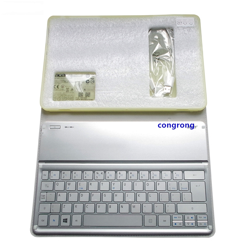 For Acer W700 W701 P3-171 P3-131 KT-1252 Keyboard Silver US Layout Wi-Fi Bluetooth Keyboard 11' Inch