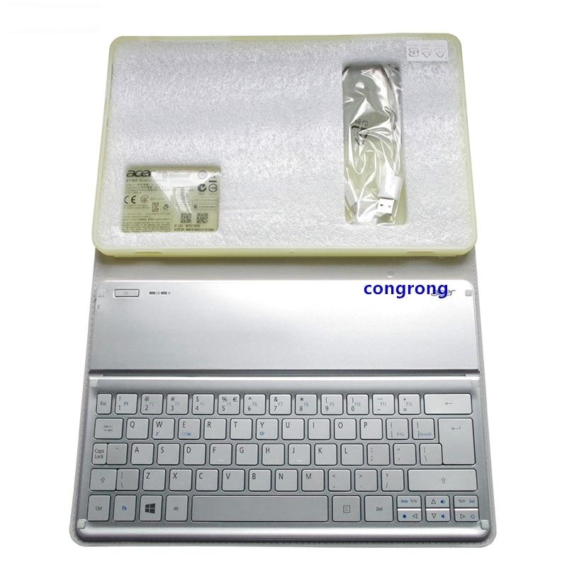 For Acer W700 W701 P3-171 P3-131 KT-1252 Keyboard Silver US Layout Wi-Fi Bluetooth Keyboard 11' Inch