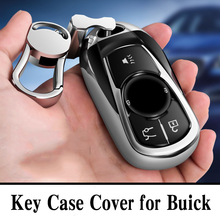 Hight quality PC+TPU key case cover Key protective shell holder for Buick regal LaCrosse GL6 Envision