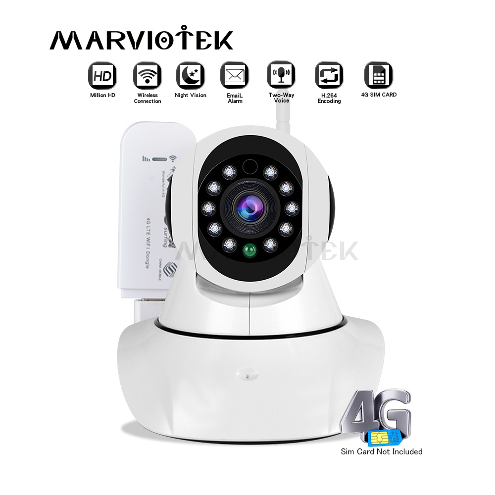 720P Wireless IP <font><b>Camera</b></font> wifi alarm wifi <font><b>camera</b></font> video surveillance 360 degree Pan Tilt <font><b>4G</b></font> LTE FDD cctv <font><b>camera</b></font> <font><b>3G</b></font> <font><b>sim</b></font> <font><b>card</b></font> slot image