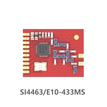 E10-433MS SI4463 100mW Long Range SPI Communication Interface 433MHz long range rf trasnceiver module wireless module Stamp hole