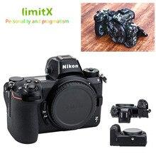 Защитный чехол для камеры с защитой от царапин и кожи, камуфляжная наклейка с кожаной текстурой, комплект защитной пленки для Nikon Z50 Z6 Z7